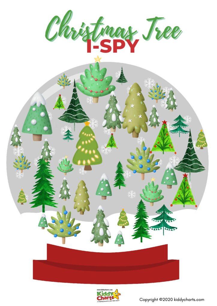 Christmas Tree iSpy Game