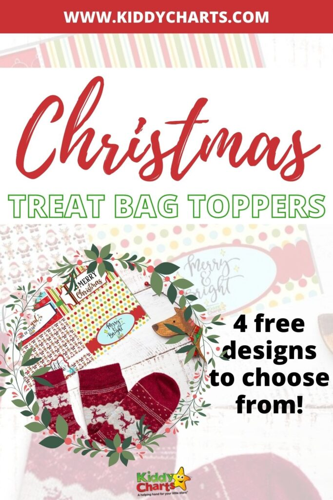 Treat Bag Toppers for Stockings