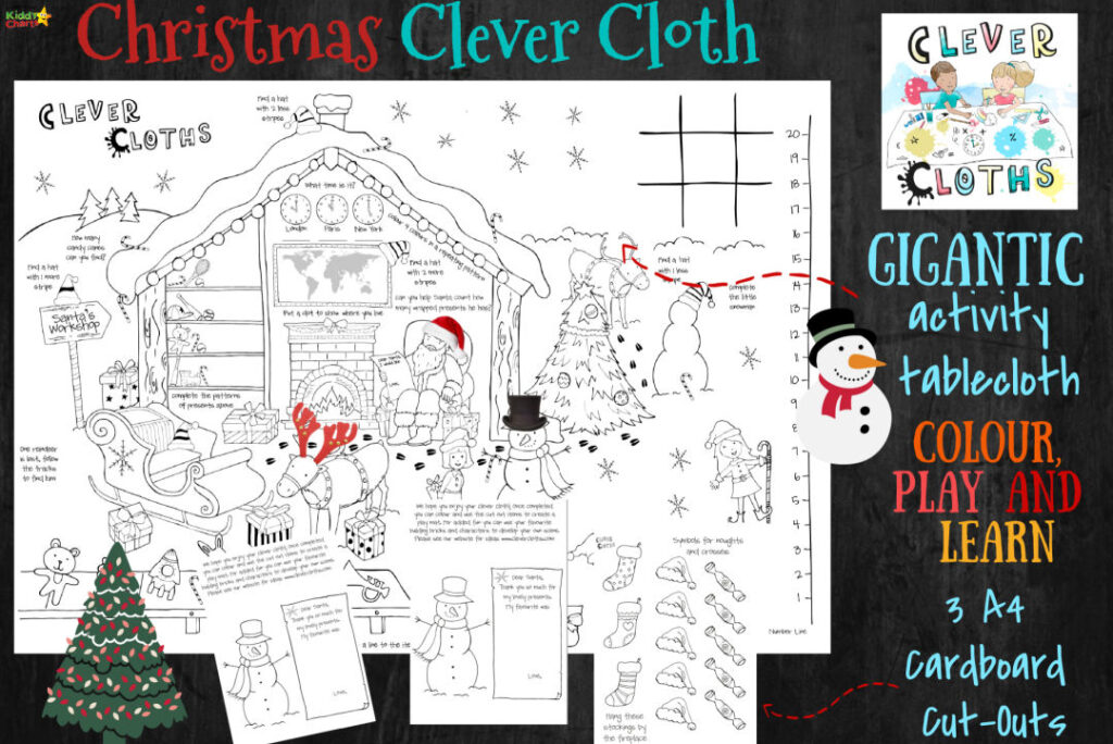 Win 1 of 3 GIANT Colouring Sheets