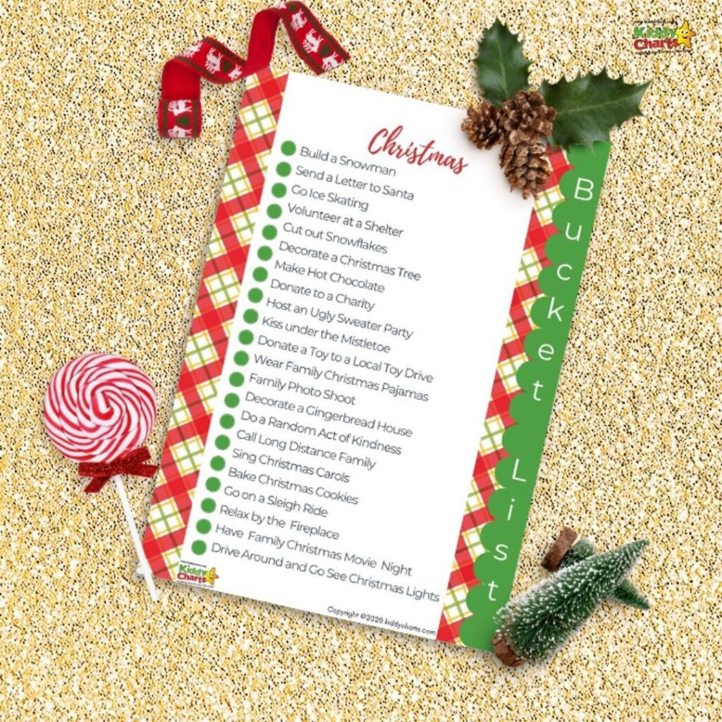 Your Christmas bucket list