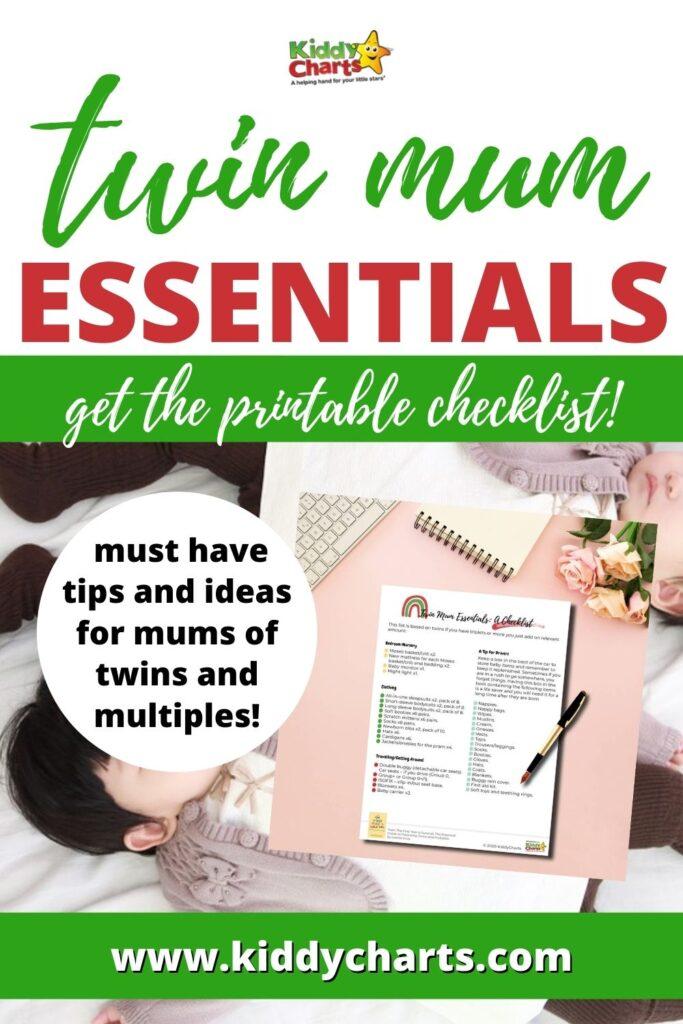 Twin Mum Essentials