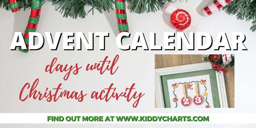 Free days until Christmas activity