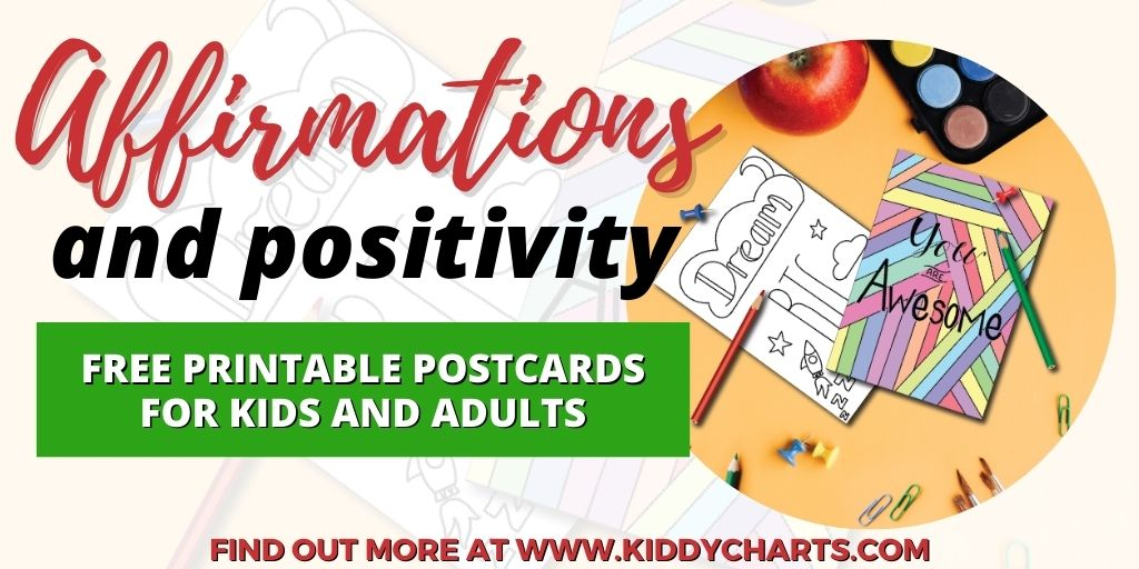 Positivity Postcards for Adults