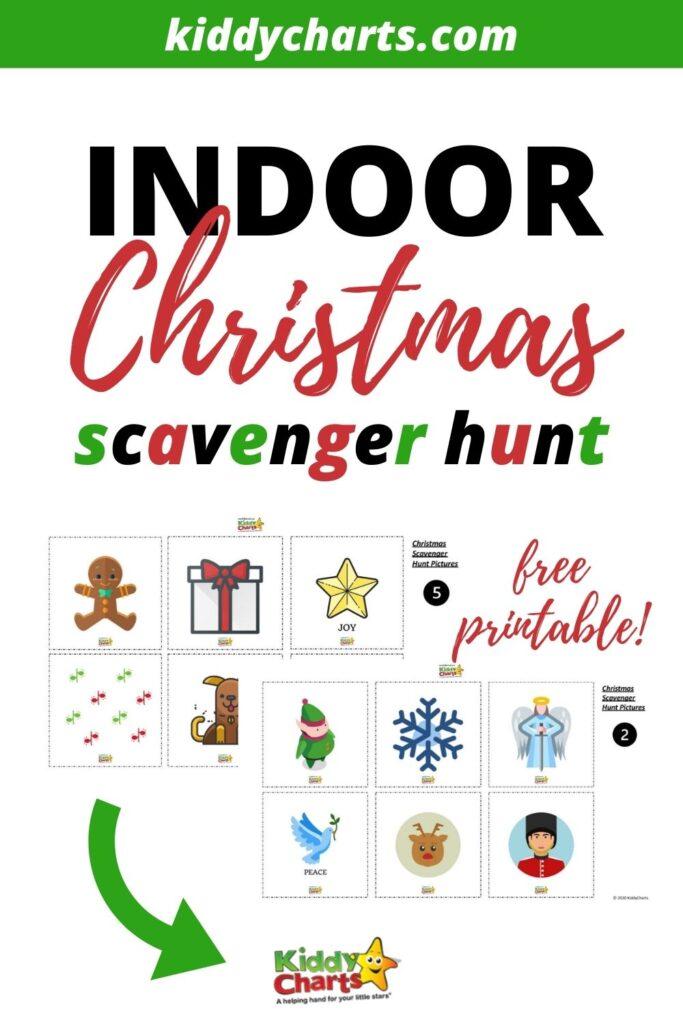Christmas Scavenger Hunt at Home