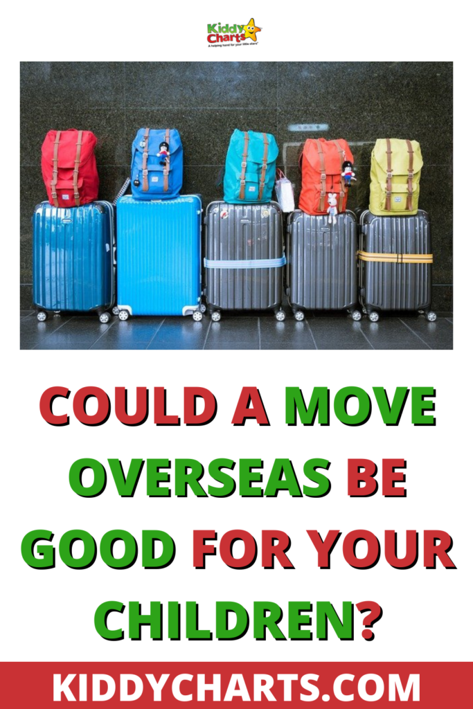 Could a move overseas be good for your children?