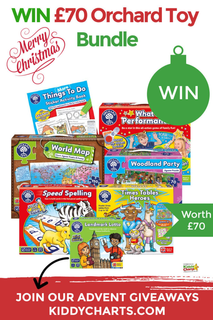 Win Orchard Toys Bundle Giveaway Worth £70