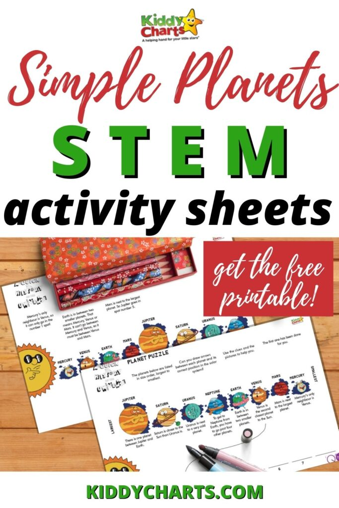 Simple Planets STEM Activity