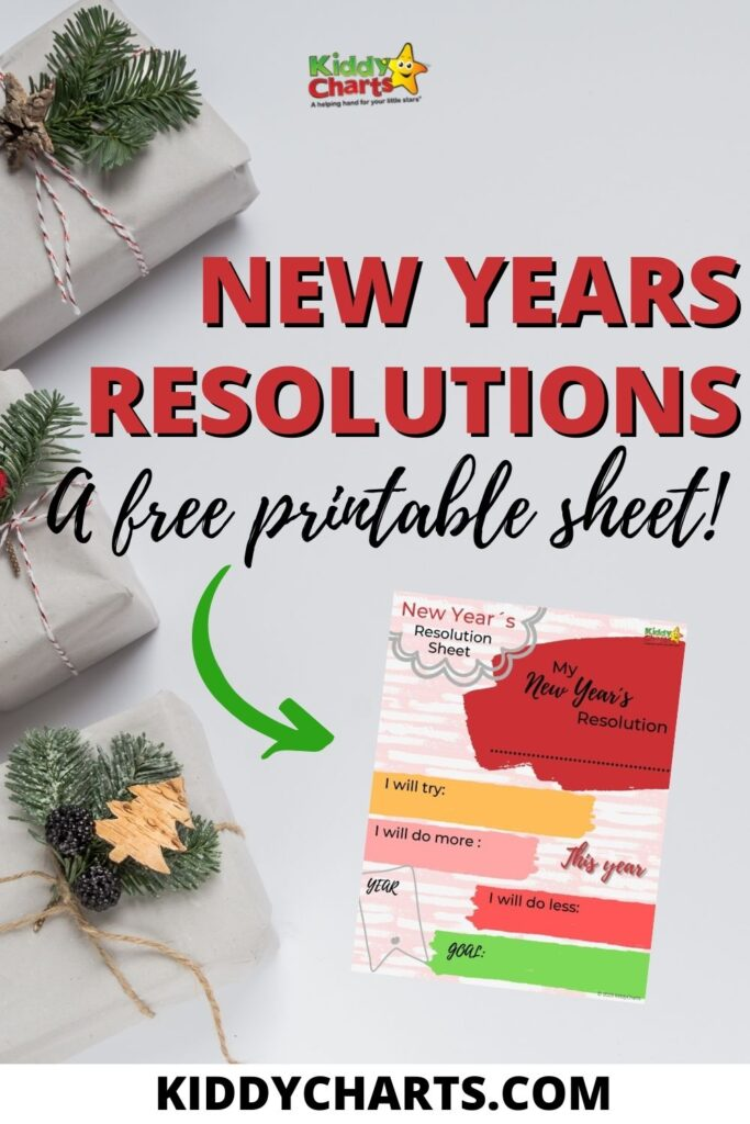 Printable New Years Resolutions