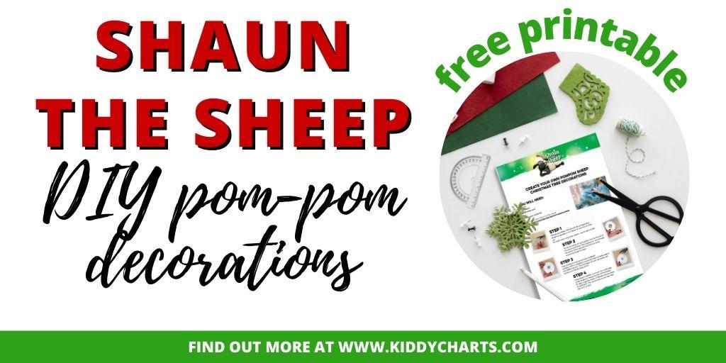 Shaun the Sheep Pompom Activity