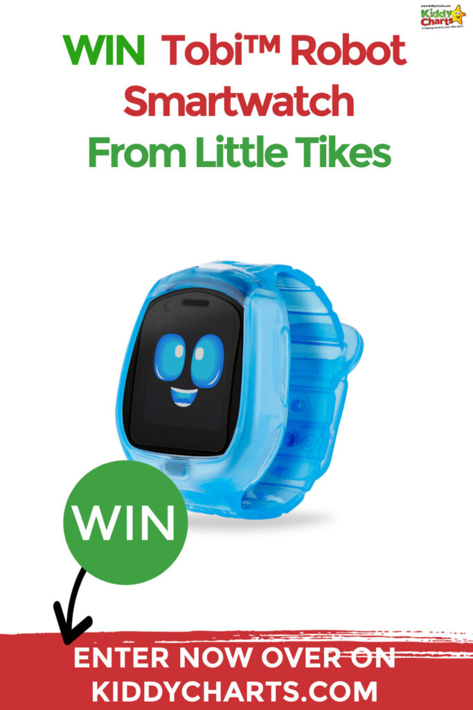 Win Tobi™ Robot Smartwatch with Little Tikes