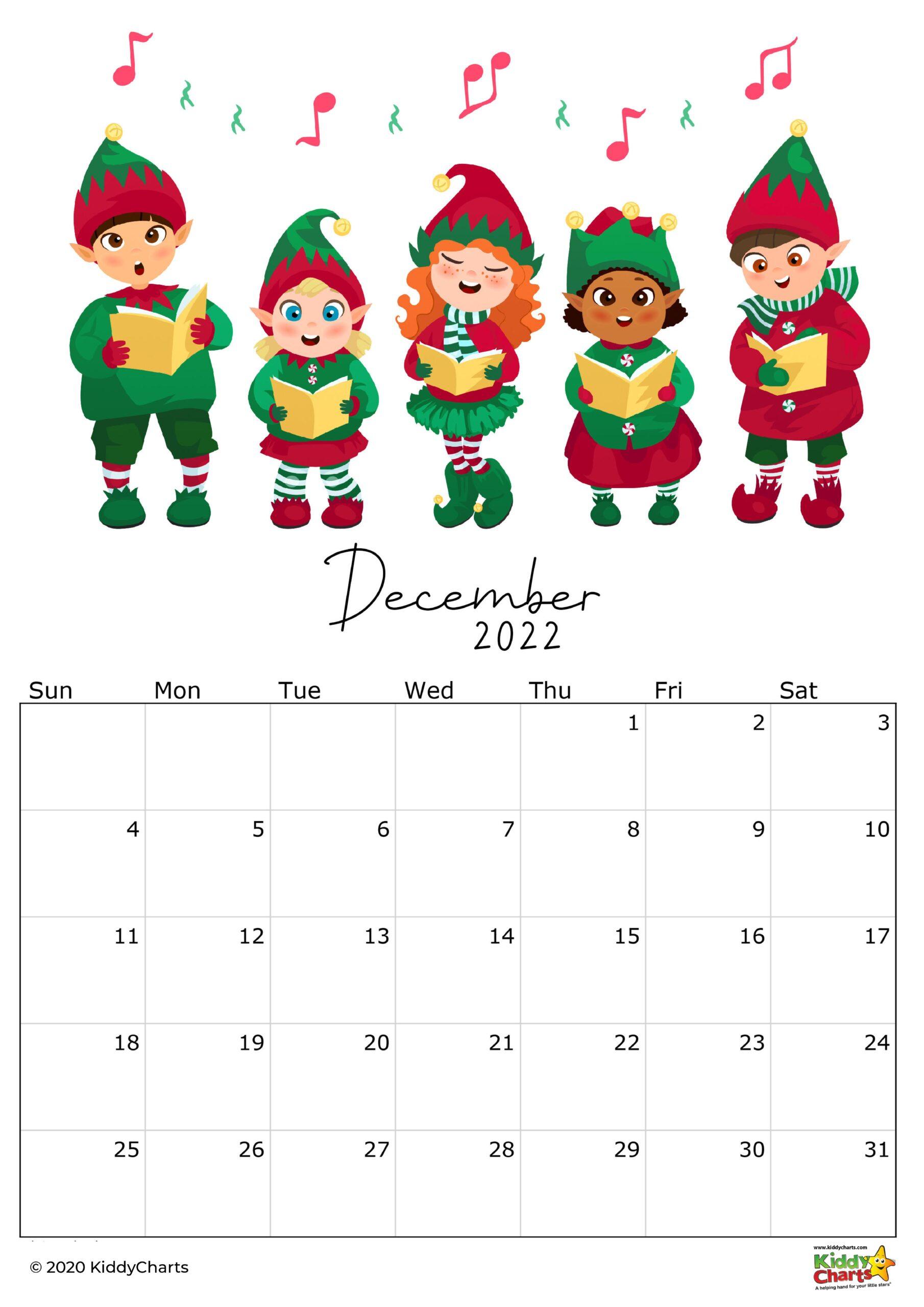 Kids Calendar 2022.2022 Calendar Thats Printable Kids Monthly Snapshots Kiddycharts Com