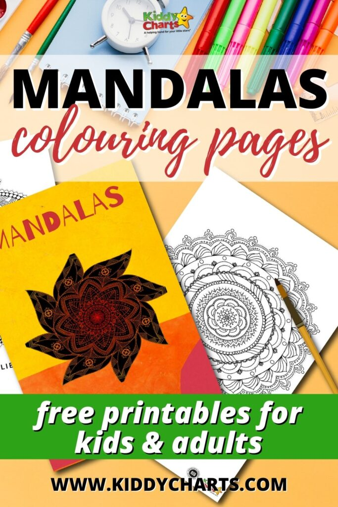 Mandala Colouring Pages for Kids