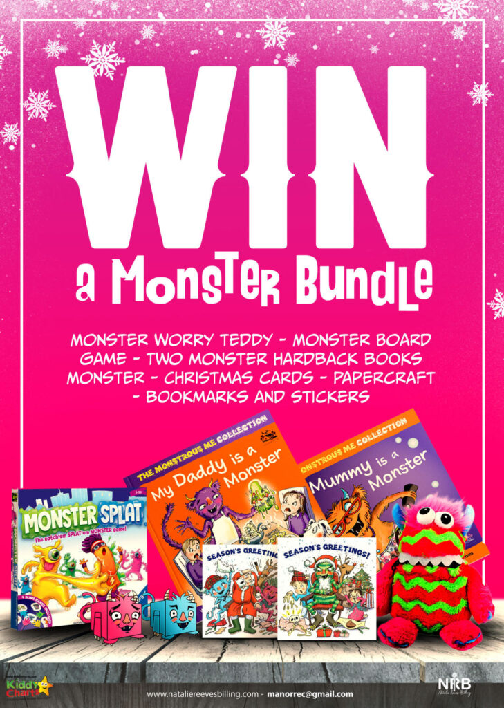 Win Monstrous Me Book