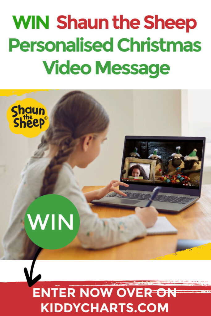 Win Shaun the Sheep Personalised Video Message