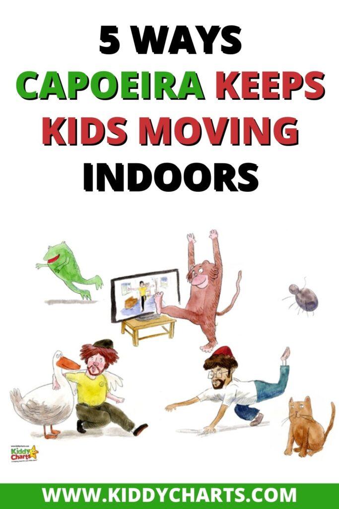 5 Ways Capoeira Keeps Kids Moving Indoors