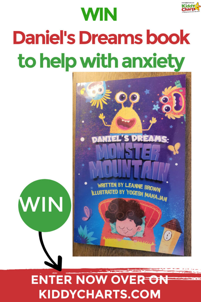 Win Daniel's Dreams book to help kids with anxiety