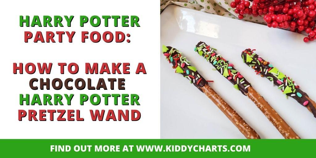 Harry Potter Pretzel Wand