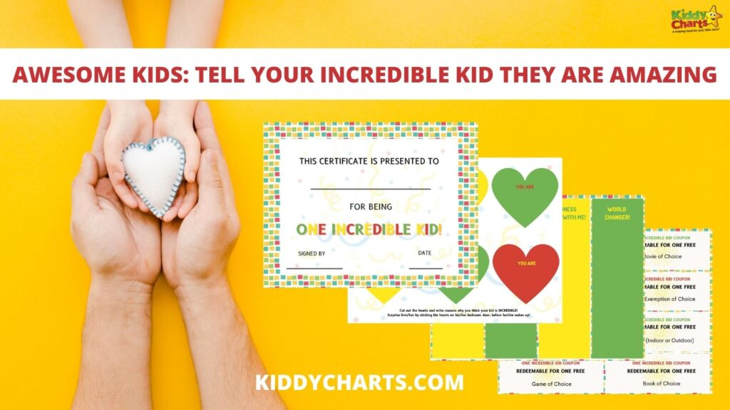 Tell your kids they are amazing