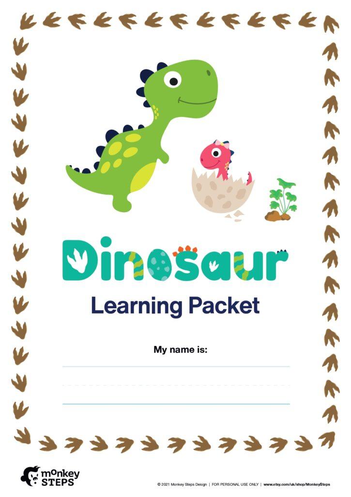 perfect dinosaur activity sheets