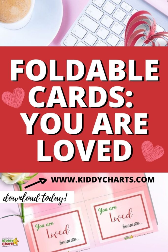 Foldable Cards: You are Loved