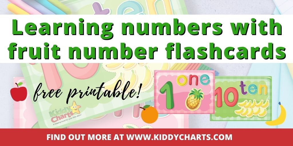 Learning Number Flashcards