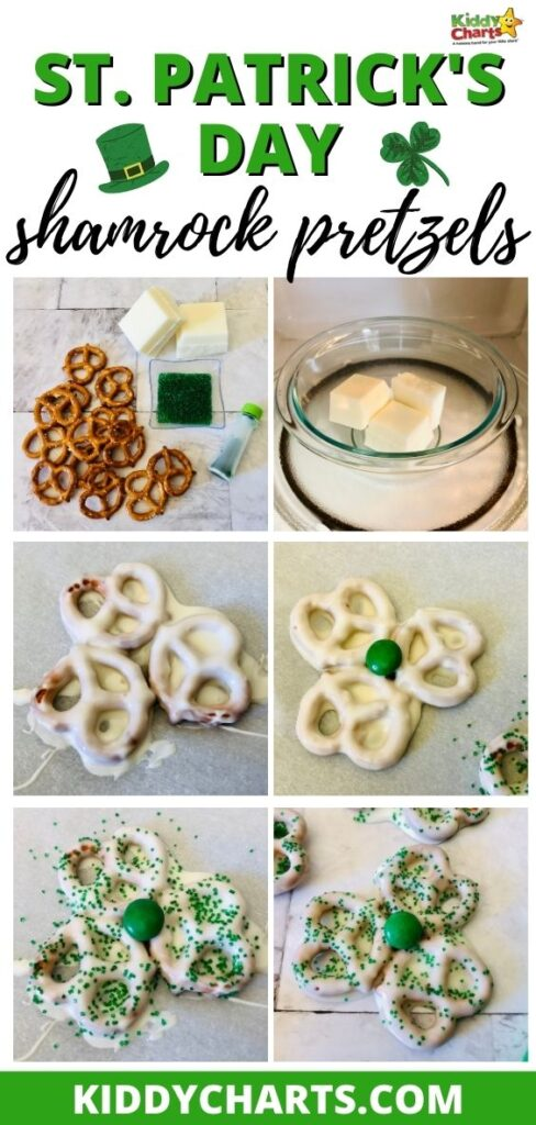 St. Patrick's Day food: Shamrock pretzels