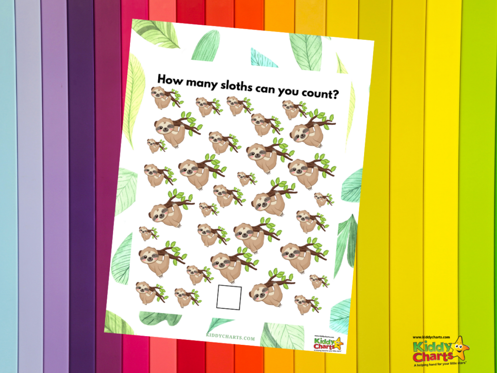 Sloth coloring Declare today to be Sloth Day!
