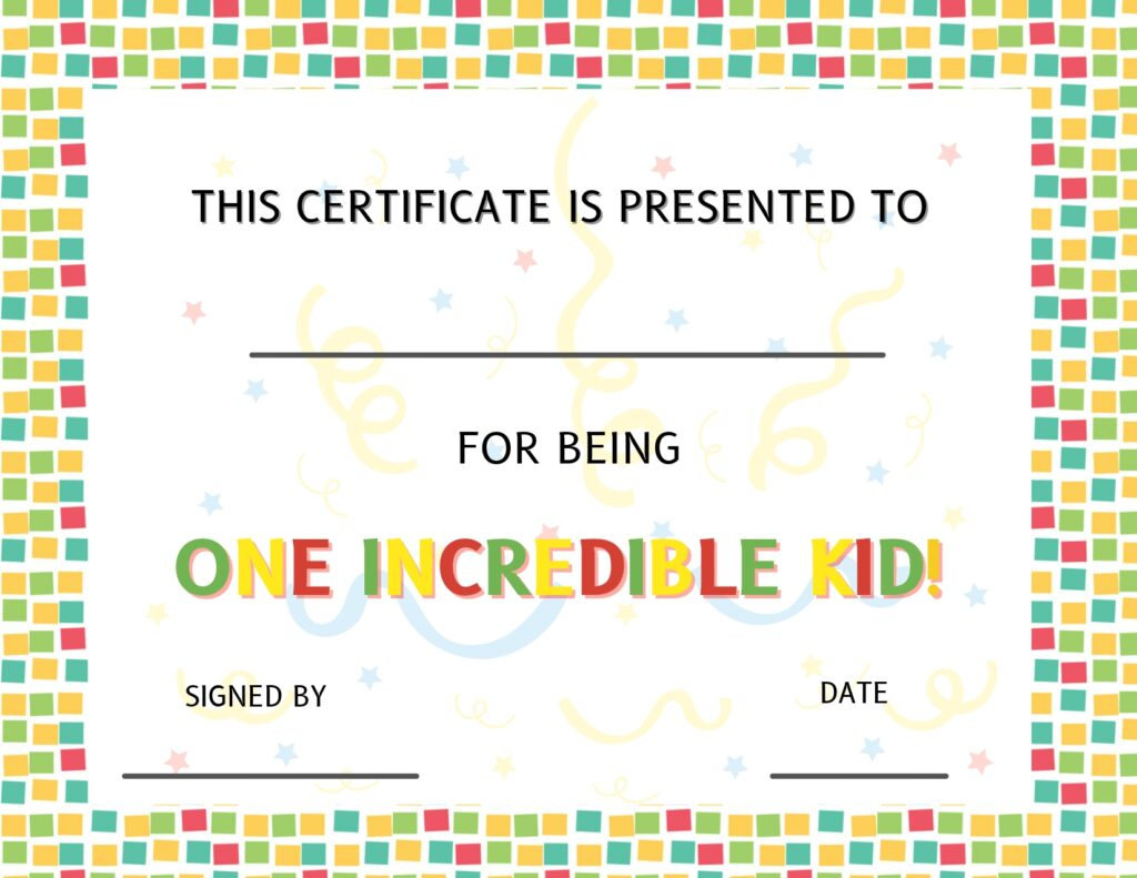 Awesome kids: Tell your incredible kid they are amazing