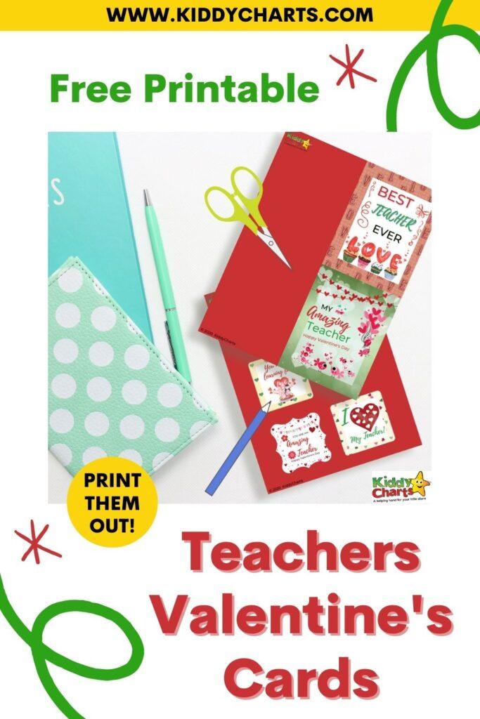 Teacher Valentine's Cards