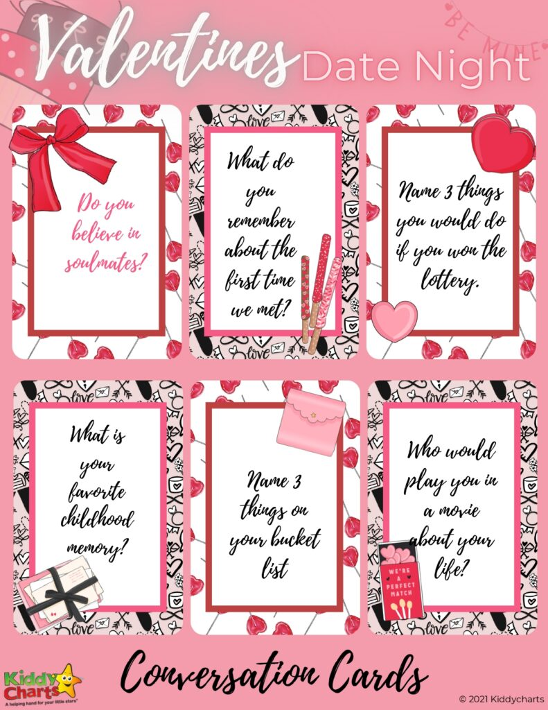 Valentine's cards for parents