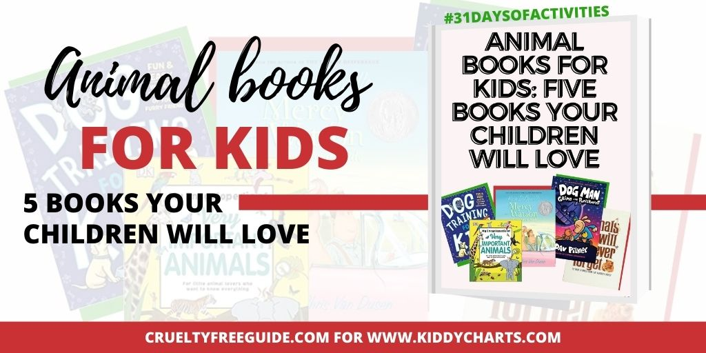 Five animal books your children will love