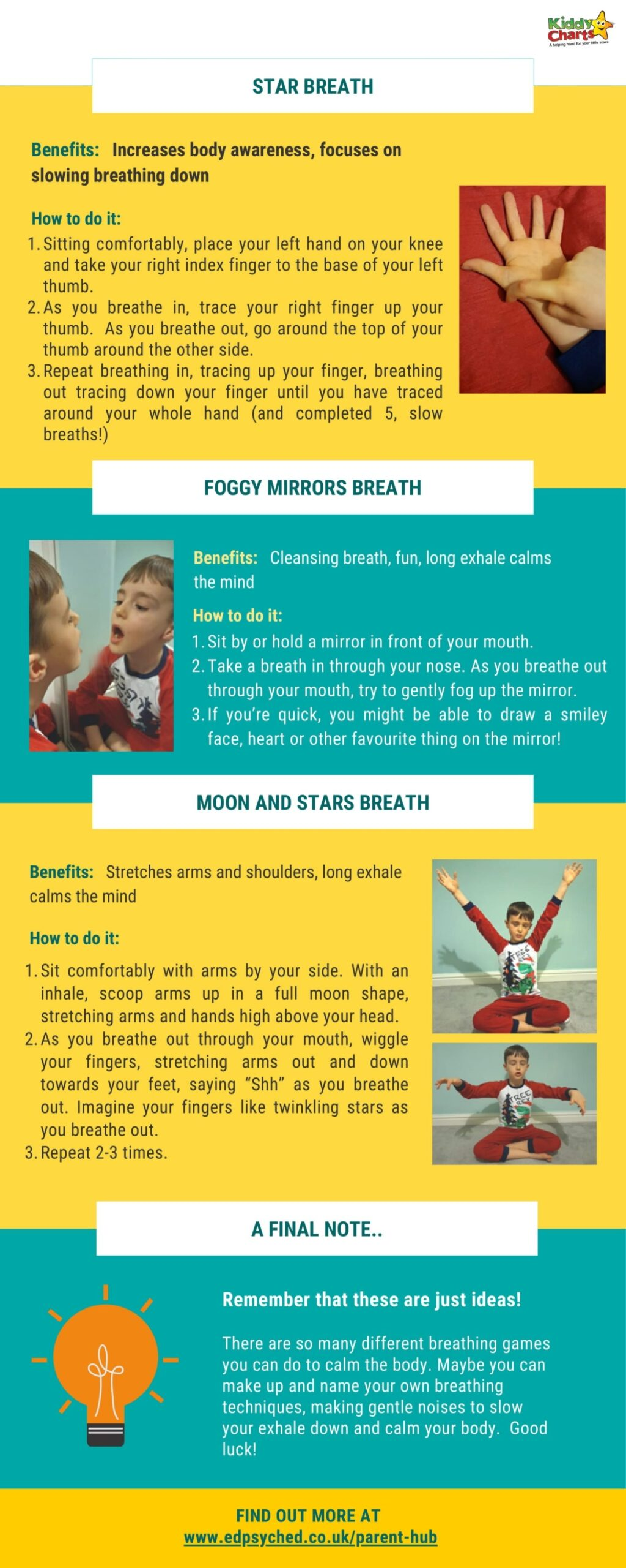 Breathing exercises for better nights sleep