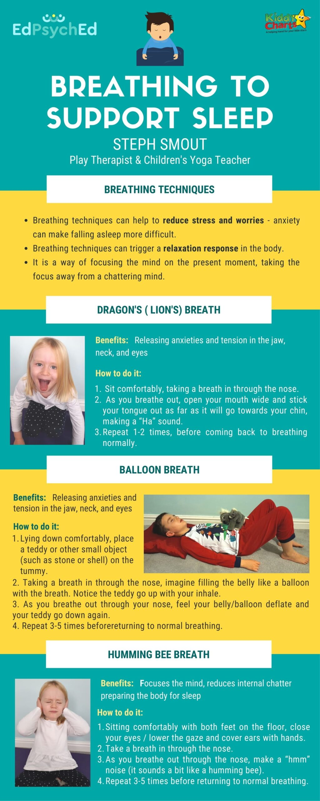Breathing exercises to get a better nights sleep