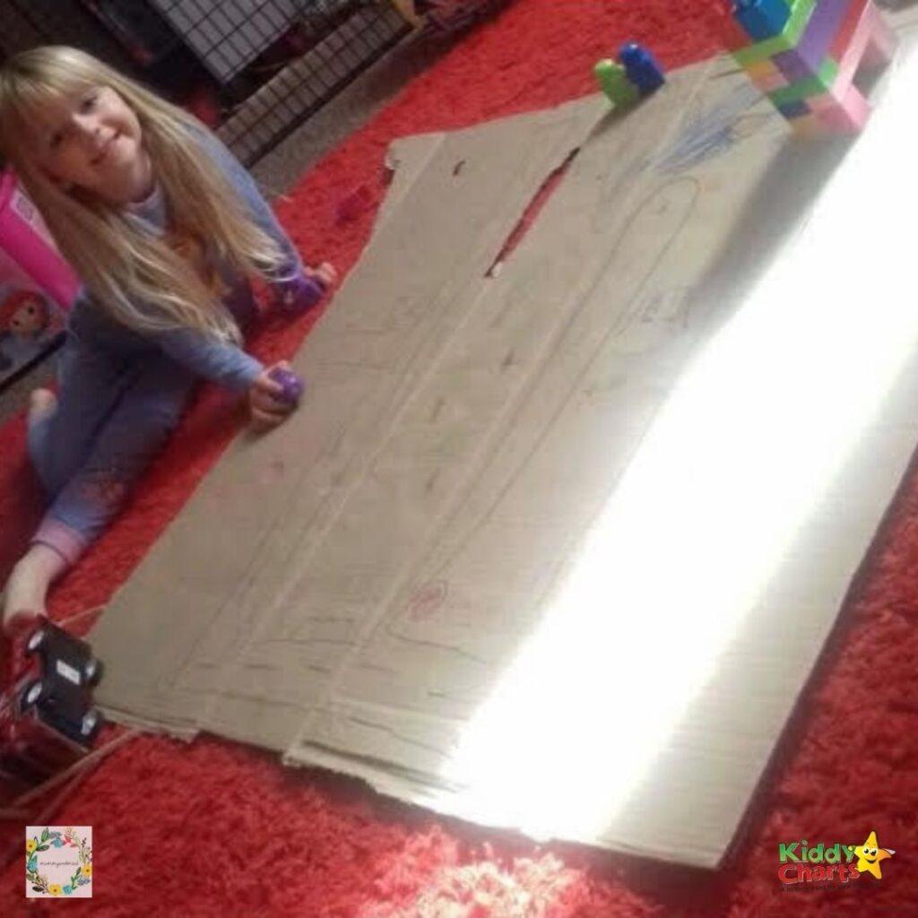 Craft ideas using a cardboard box