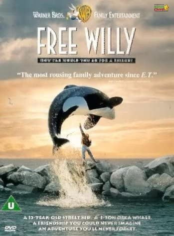 Free Willy one of the best animal movies for kids