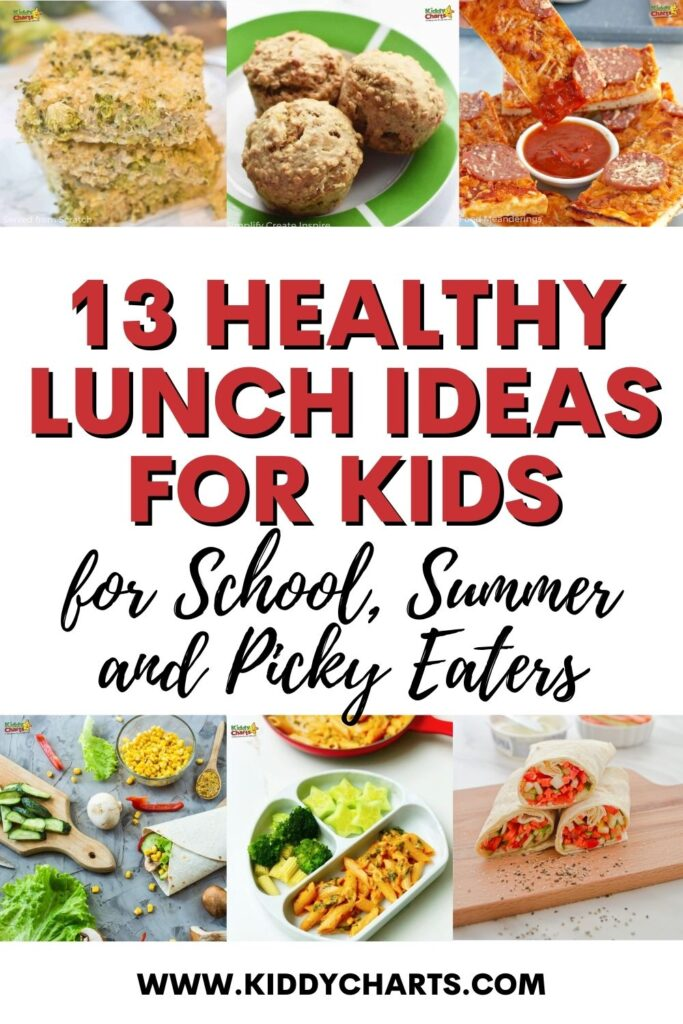 13 Healthy lunch ideas for kids