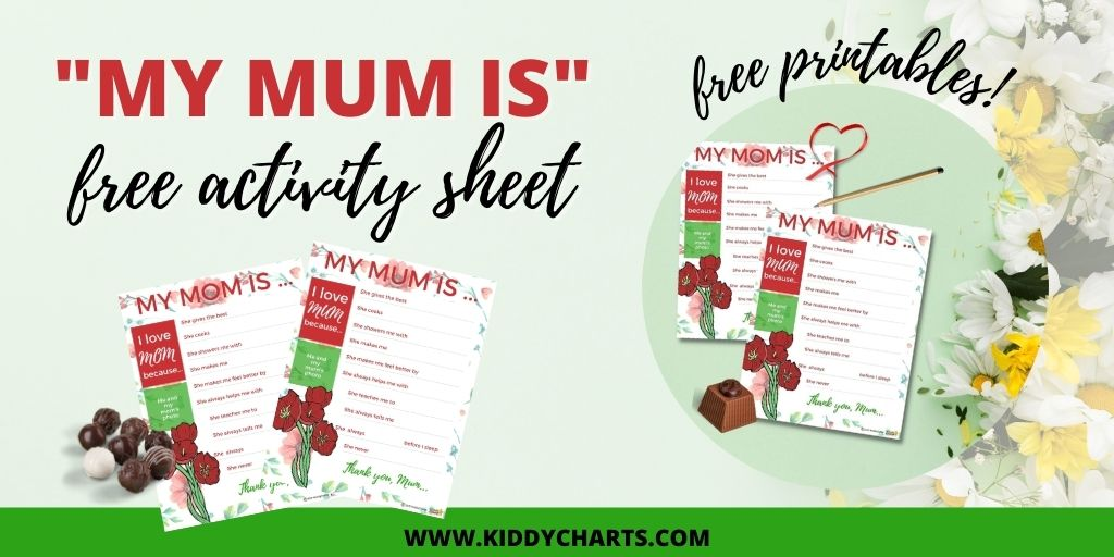 Mom day sheet