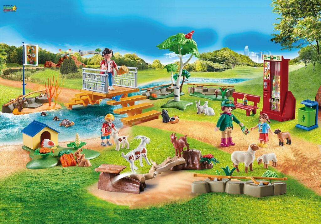 Playmobil animals zoo bundle