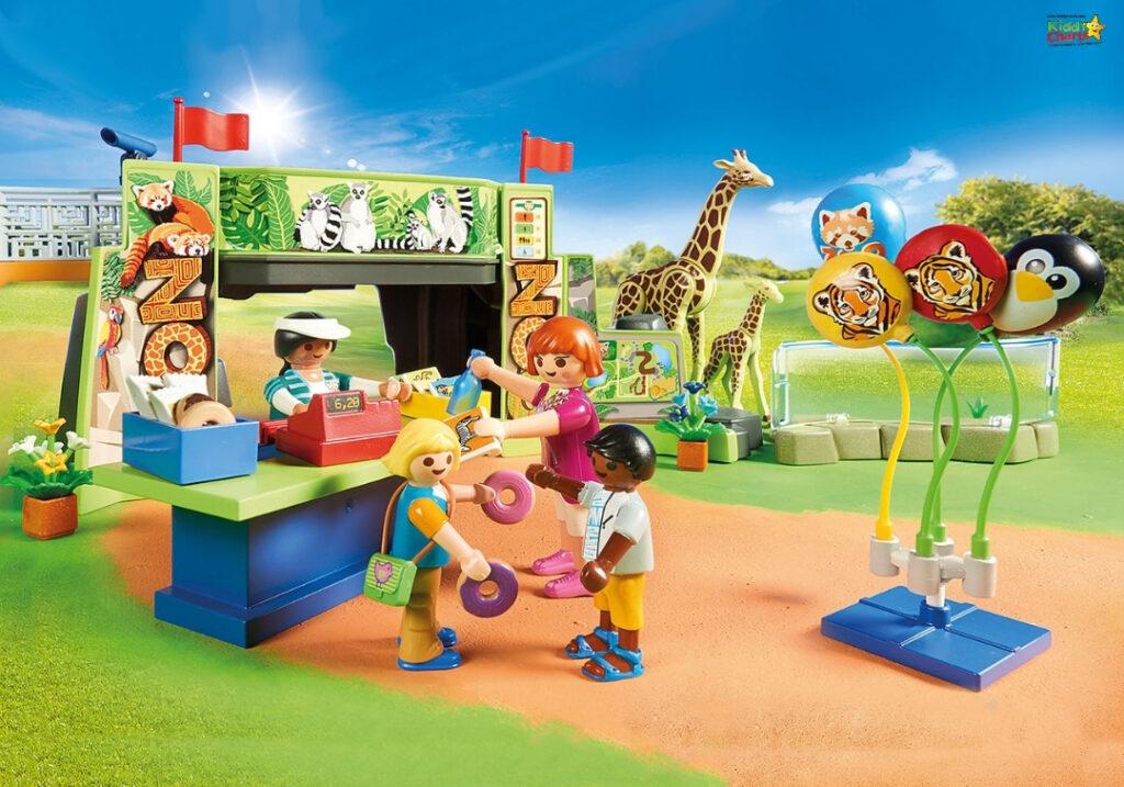 Playmobil animals zoo
