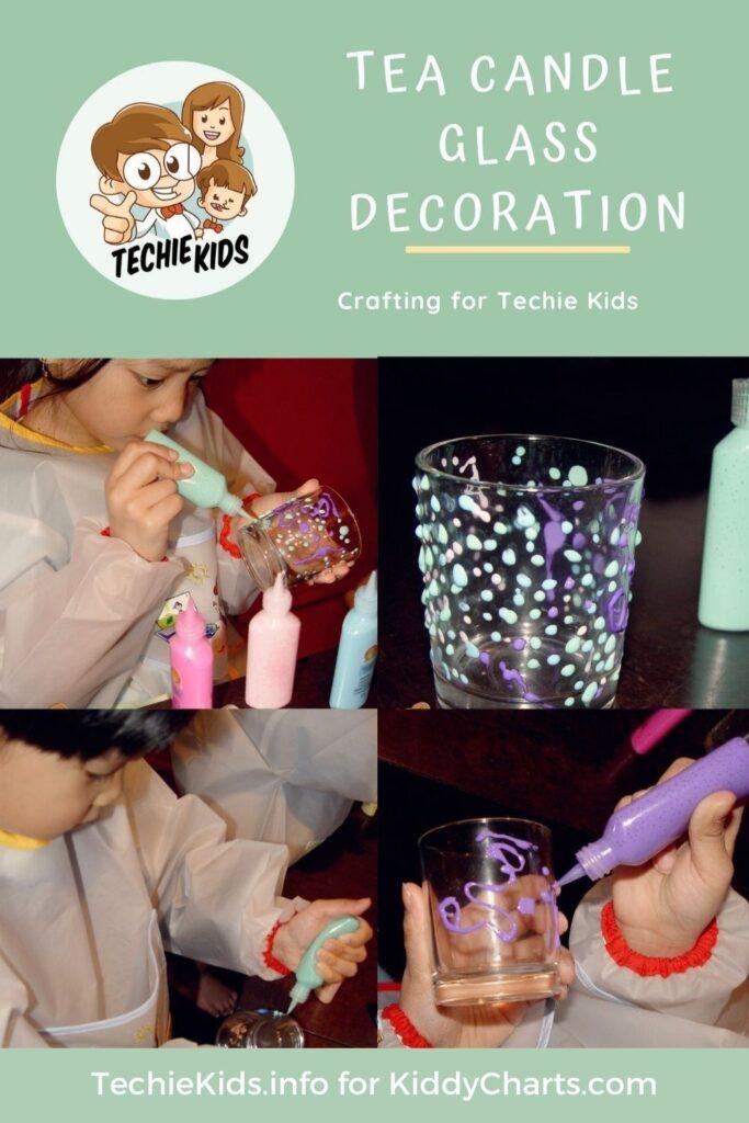 Tea candle craft