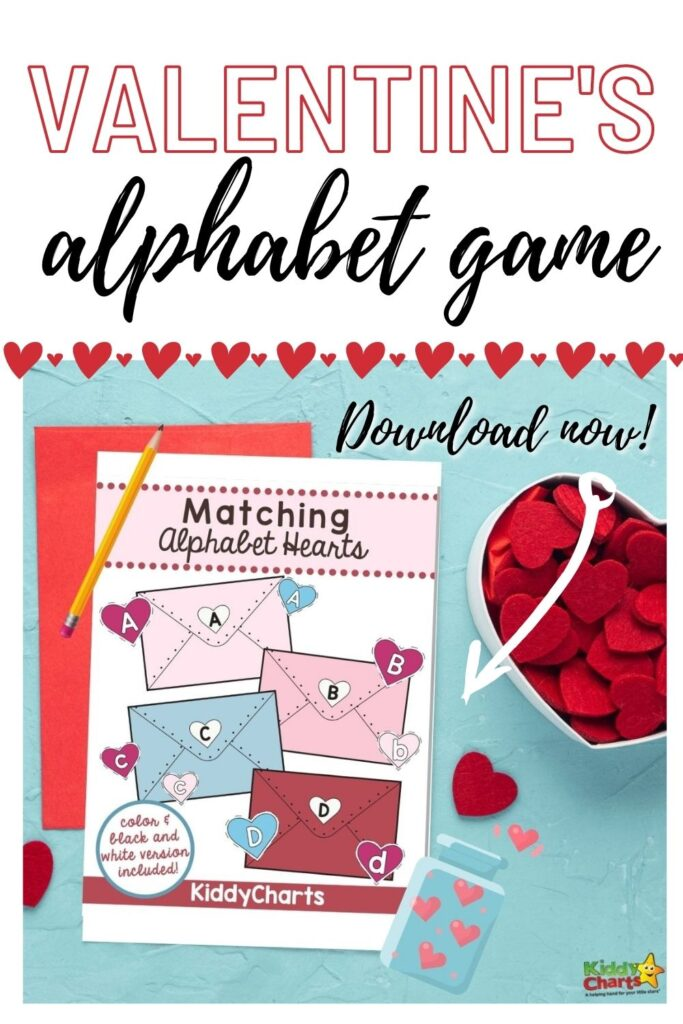 Valentine's Alphabet Game