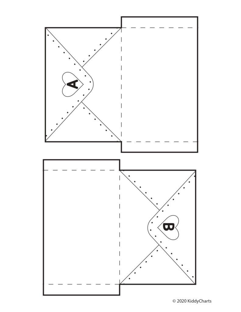 Valentine's Alphabet Game second part for print
