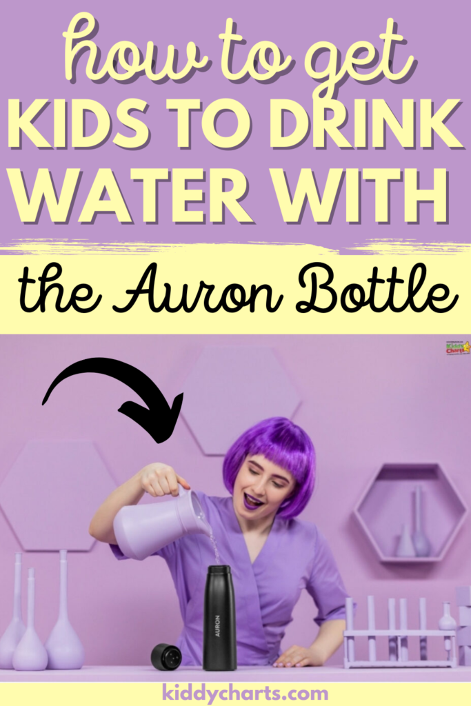 Auron bottle drinking water