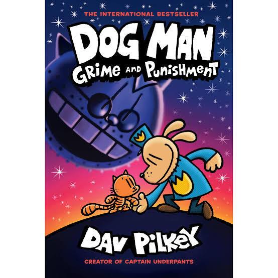 Animal books for kids Dog Man