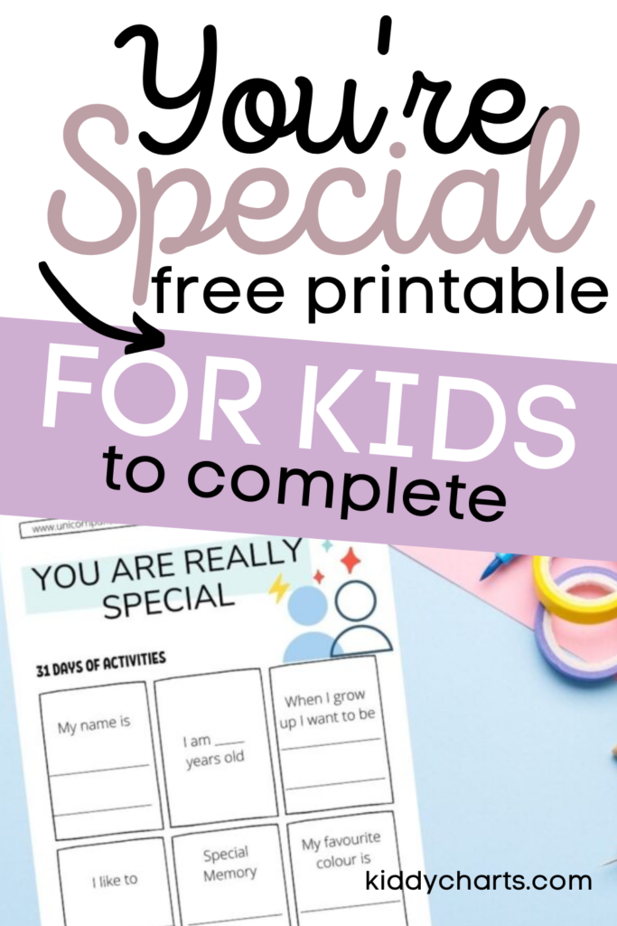 You're are special free printable