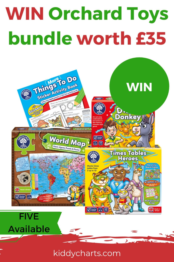 Win £35 learning toy bundle