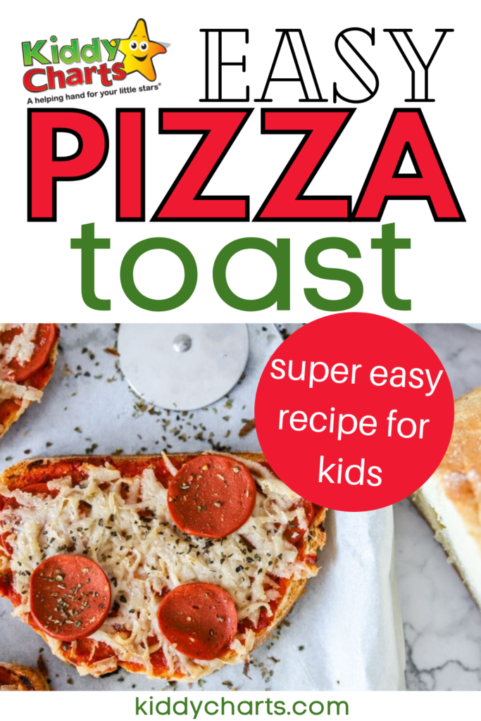 Toast pizza recipe for kids that super easy