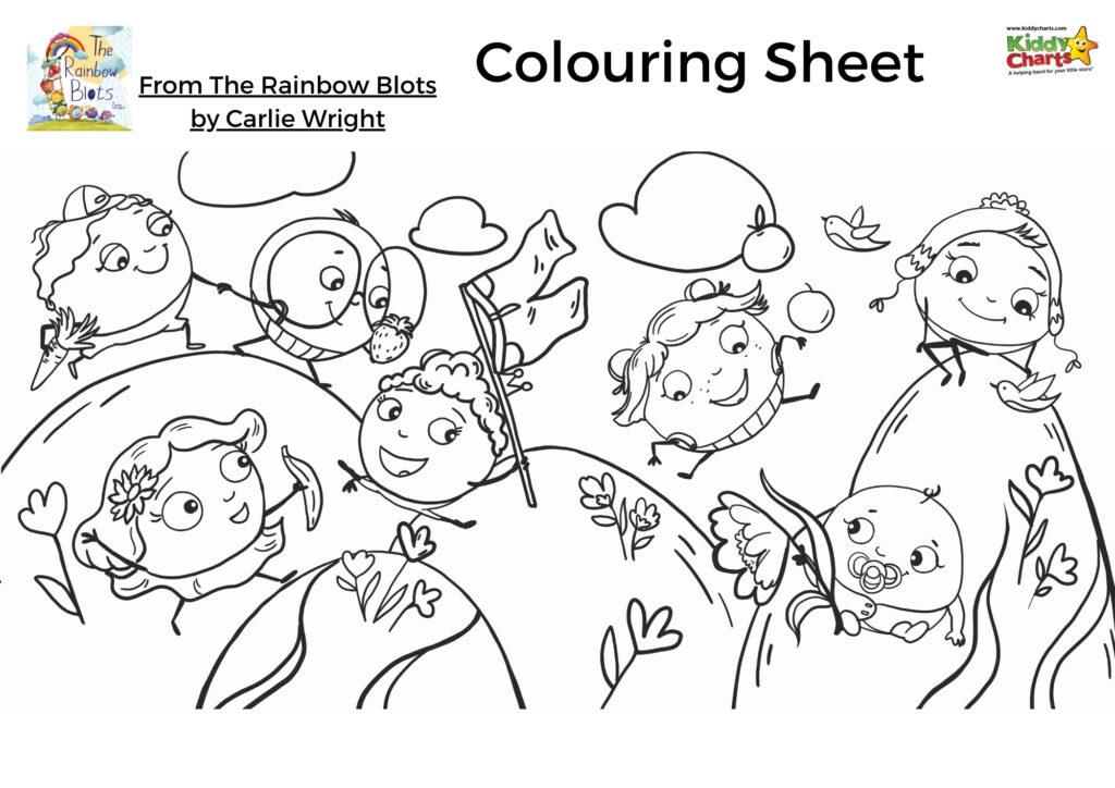 The Rainbow Blots activity pack