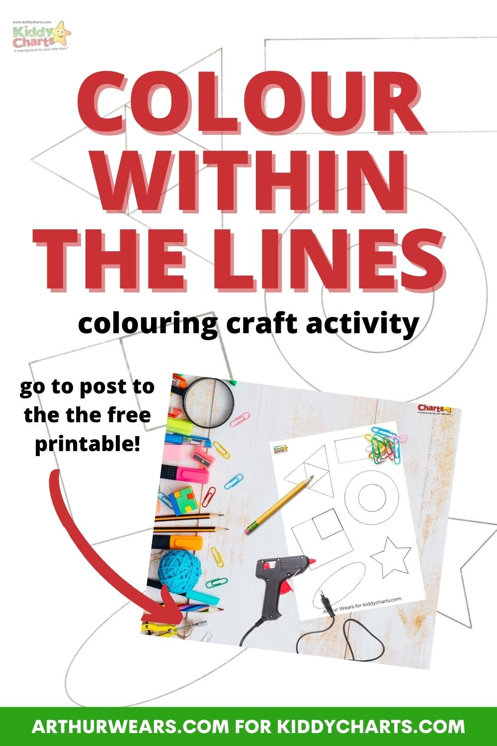 Colouring craft activity