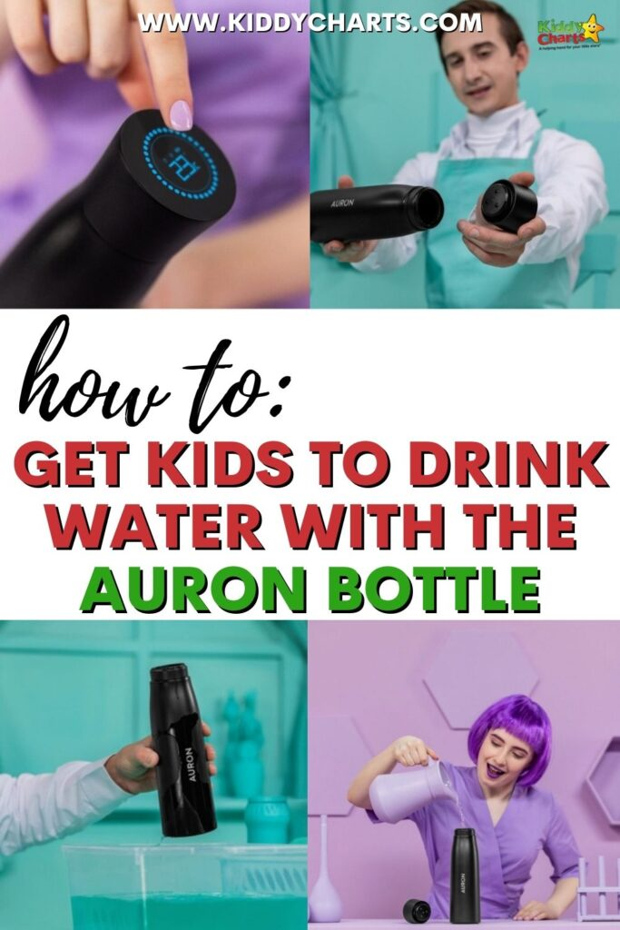 How to get kids to drink water with the Auron bottle